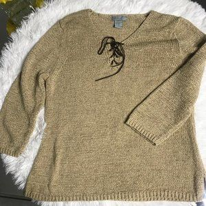 August Silk Pullover Sweater size XL